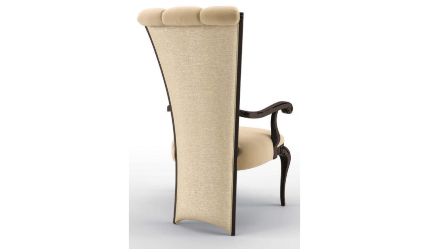 Dining Chairs Luxurious Steps of the Castle Dining Armchair