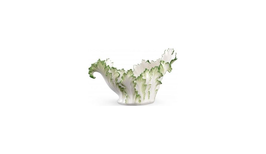 Decorative Accessories Leafy Accanthus Ceramic Bowl
