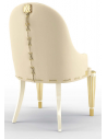 Dining Chairs Luxurious Mannequin Cream Dining Armchair