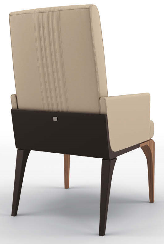 Elegant Utterly Beige Dining Armchair