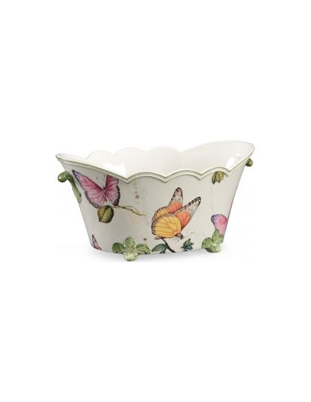 Decorative Accessories Beautiful Butterfly Cachepot