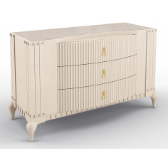 Contemporary Grecian Temple Chest Of Drawers