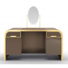 Beautiful Golden Saddlebury Dressing Table