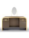 Dressing Vanities & Furnishings Beautiful Golden Saddlebury Dressing Table