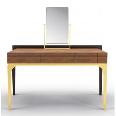 Stunning Golden Simplicity Dressing Table