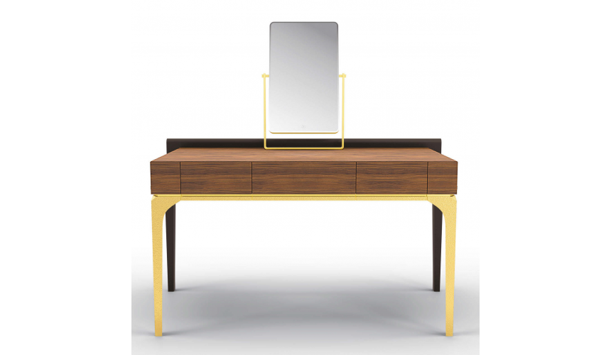 Dressing Vanities & Furnishings Stunning Golden Simplicity Dressing Table