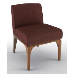 Deluxe Hidden Ruby Accent Chair