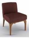 Dining Chairs Deluxe Hidden Ruby Accent Chair