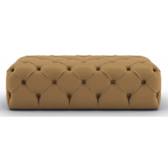 Luxurious Toffee and Caramel Bench