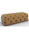 SETTEES, CHAISE, BENCHES Luxurious Toffee and Caramel Bench