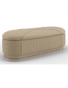 SETTEES, CHAISE, BENCHES Deluxe Estate Greige Bench