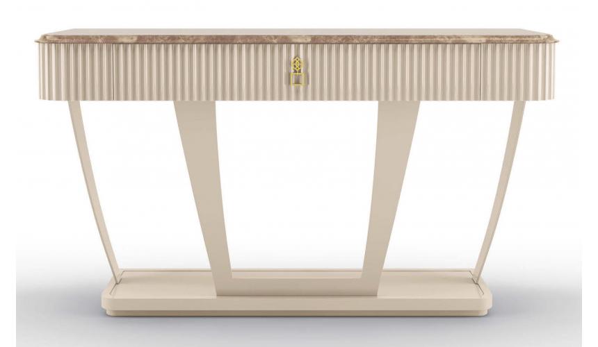 Console & Sofa Tables Beautiful Blushing Cloud Console