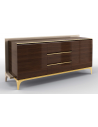 Breakfronts & China Cabinets Gorgeous Morning Espresso Sideboard