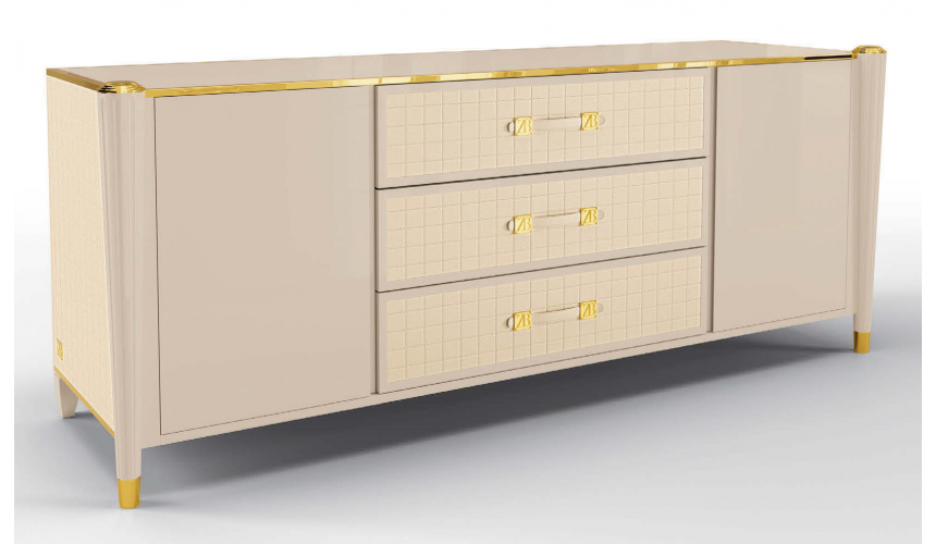Breakfronts & China Cabinets Luxurious Poetic Rose Sideboard