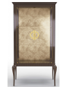 Display Cabinets and Armories Luxurious Palms in the Breeze Display Cabinet