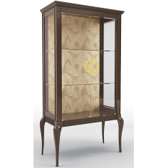 Luxurious Palms in the Breeze Display Cabinet