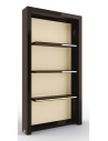 Display Cabinets and Armories Stunning Framed in Noir Bookshelf
