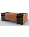 Executive Desks Gorgeous Butterscotch and Coco Desk