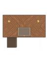 Executive Desks Sleek and Sophisticated Writer's Dream Square Desk + Return Desk