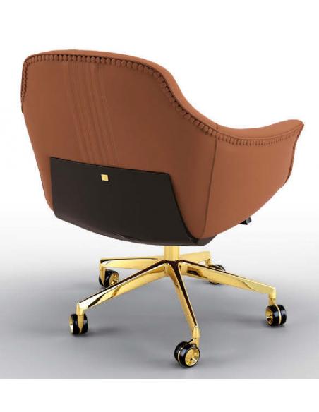 Office Chairs Gorgeous Bronzed Splendor Desk Chair