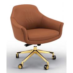 Gorgeous Bronzed Splendor Desk Chair