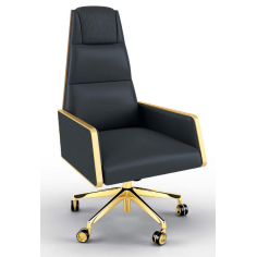 High End Refined Obsidian Office Chair