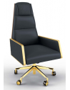 Office Chairs High End Refined Obsidian Office Chair