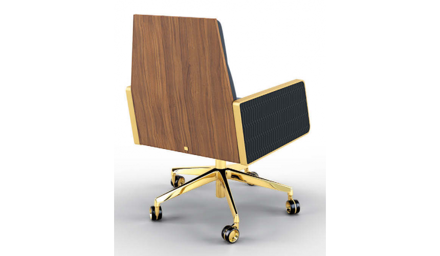 Office Chairs Luxurious Raven's Wing Desk Chair