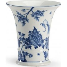 Hand Decorated Porcelain Watson Cachepot