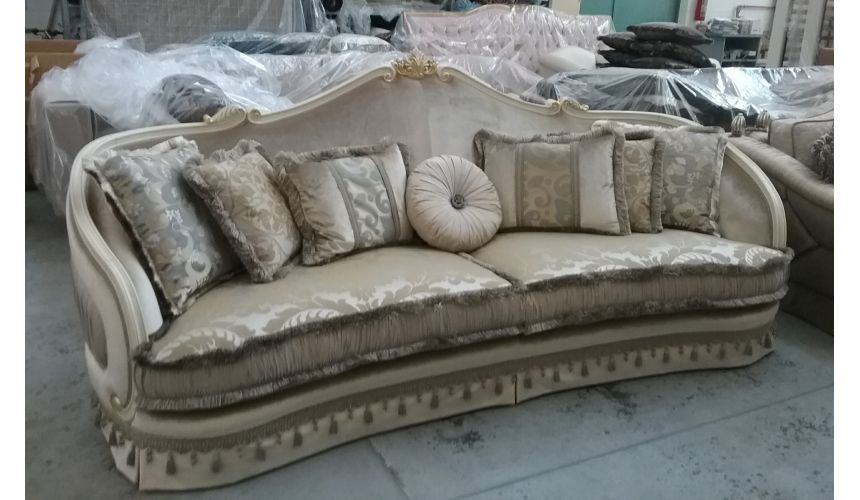 SOFA, COUCH & LOVESEAT Furniture Masterpiece sofa from our Golden Dolphin Collection