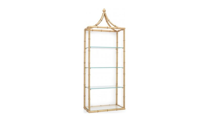 Decorative Accessories Pagoda Open Wall Shelf