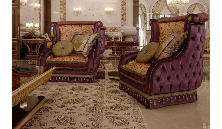 Luxury Leather & Upholstered Furniture Furniture Masterpiece Collection, chair