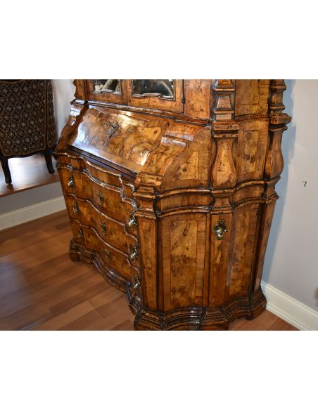 Showroom Items  Venetian Secretary Desk With Cabinet.