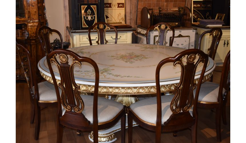 Handmade Italian Luxury Furniture Perfect formal dining set for an exceptional dining room