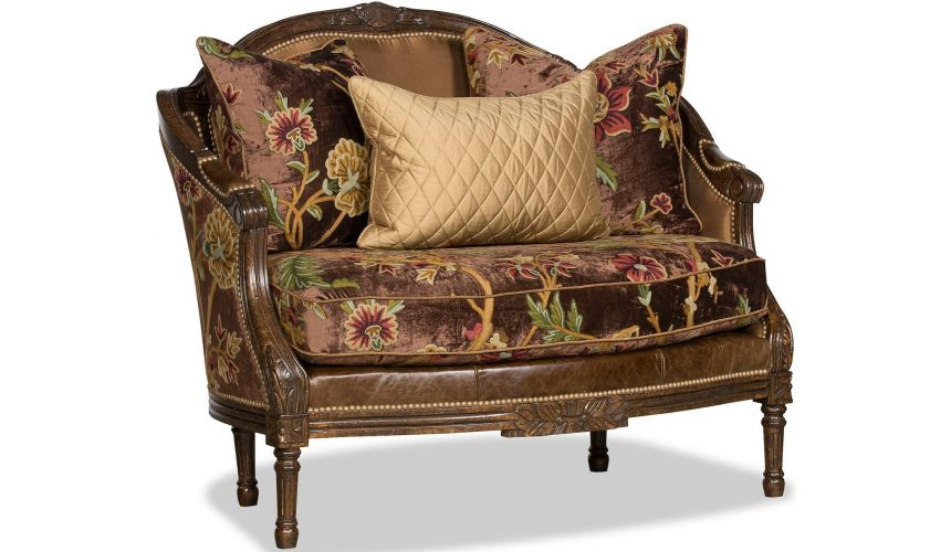 SETTEES, CHAISE, BENCHES Deluxe Spanish Chocolate Chair