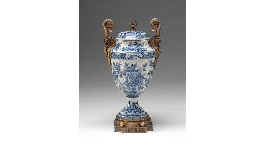 Decorative Accessories High Quality Furniture Porcelain Crackle Urn