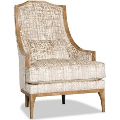 Stunning Shore Side Alabaster Accent Chair