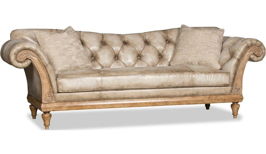 SOFA, COUCH & LOVESEAT Luxurious Balanced Bone Sofa