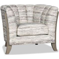 High End Mountain Walls Accent Chair