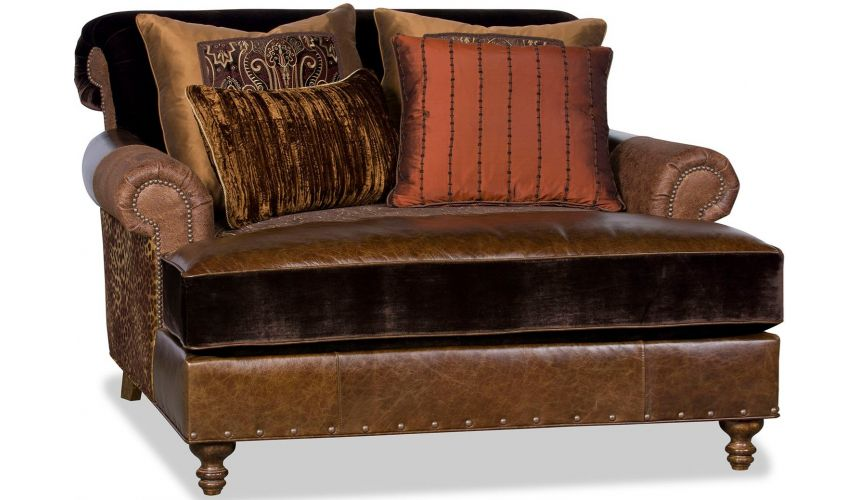 SETTEES, CHAISE, BENCHES Luxurious Arabian Market Accent Chair
