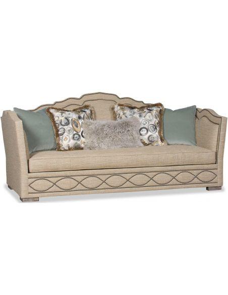 SOFA, COUCH & LOVESEAT Deluxe Hidden Geode Sofa