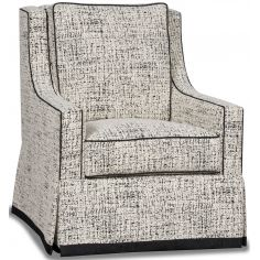 Gorgeous Snow Cover Armchair