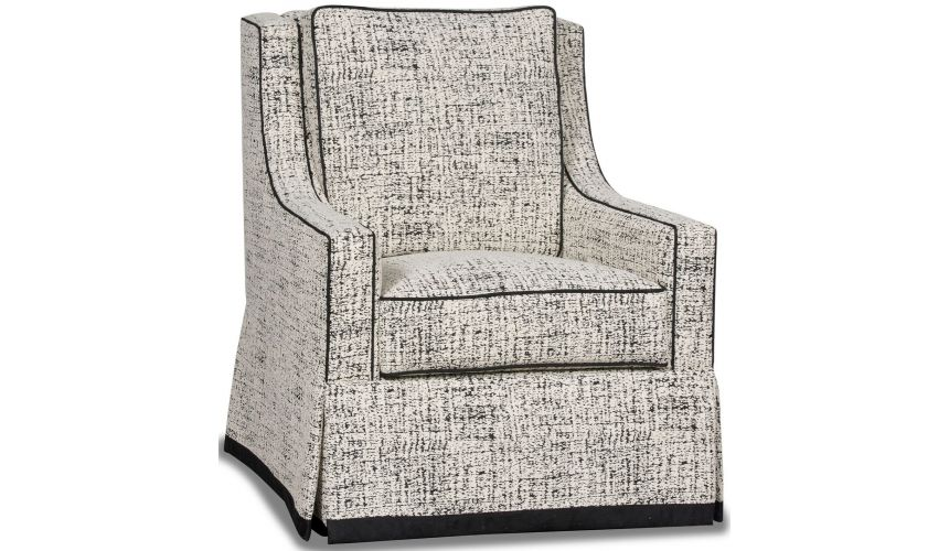 MOTION SEATING - Recliners, Swivels, Rockers Gorgeous Snow Cover Armchair