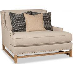 Stunning Modest Beige Accent Chair