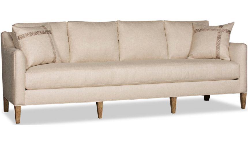 SOFA, COUCH & LOVESEAT High End Tinted Peach Sofa
