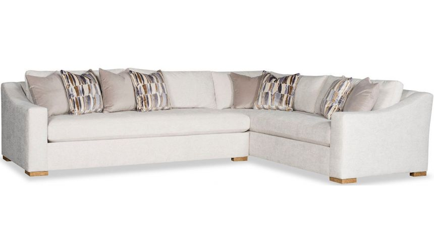 SECTIONALS - Leather & High End Upholstered Furniture Stunning Ballet Matinee Sofa