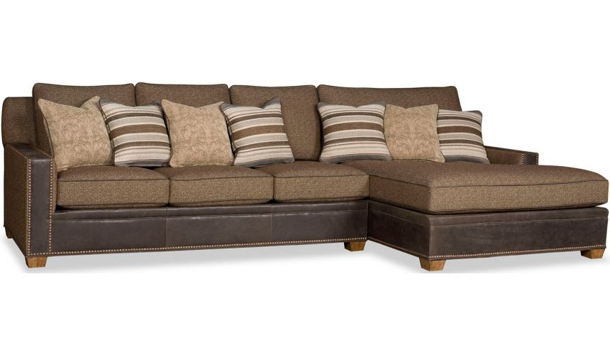 SECTIONALS - Leather & High End Upholstered Furniture Deluxe Box of Chocolates Sofa