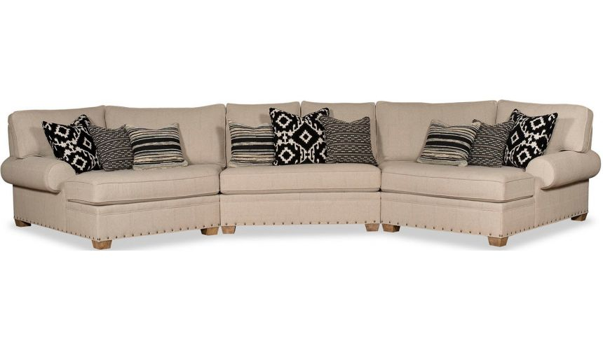 SECTIONALS - Leather & High End Upholstered Furniture Gorgeous Sweet Home Arizona Sofa