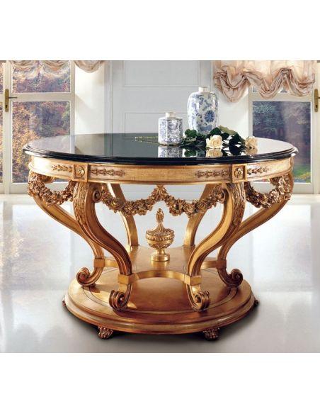 Foyer and Center Tables Italian handmade furniture Bernadette Livingston Furniture