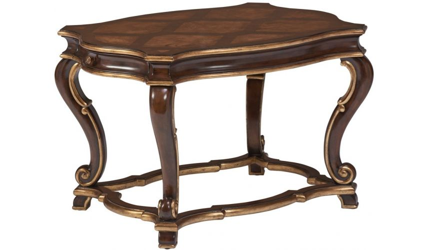 Square & Rectangular Side Tables Beautiful Woven Forest End Table